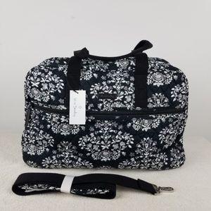 Vera Bradley Medium Traveler Bag Chandelier Noir